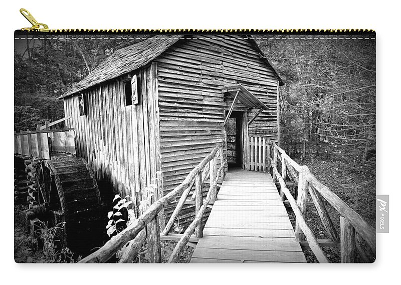 Old Carry-all Pouch featuring the photograph Old Mill 1 by Todd Hostetter