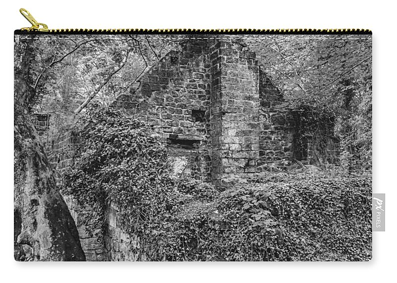 Landscapes Carry-all Pouch featuring the photograph Old Mill by Nick Bywater