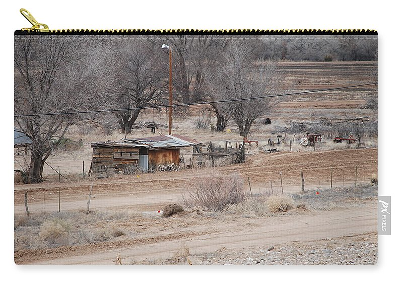 House Carry-all Pouch featuring the photograph Old Ranch House by Rob Hans