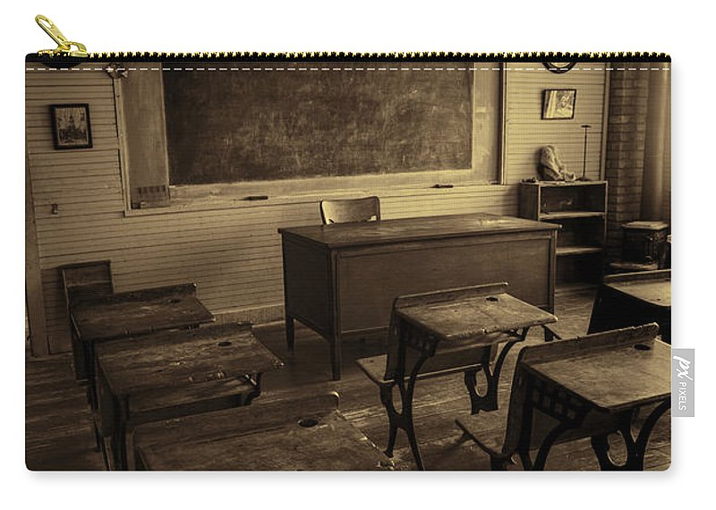 School Carry-all Pouch featuring the photograph Old School #2 by Stephen Stookey