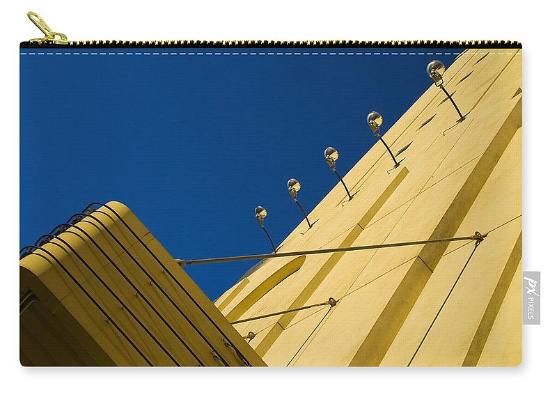 Electric Carry-all Pouch featuring the photograph Old School Vegas by Skip Hunt