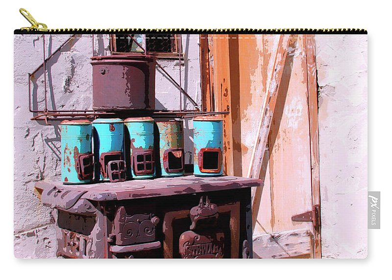 Cabot Carry-all Pouch featuring the photograph Old Soldier by William Dey