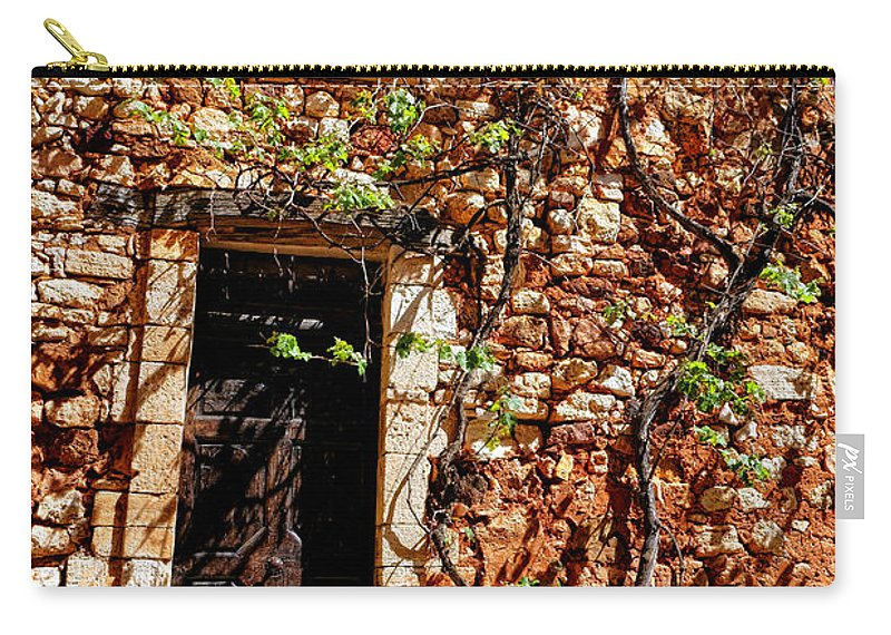 Provence Carry-all Pouch featuring the photograph Old Stone House In Provence by Olivier Le Queinec