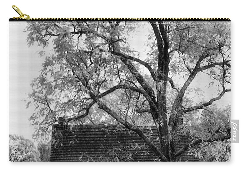 Homes Carry-all Pouch featuring the photograph Old Stone House by Richard Rizzo