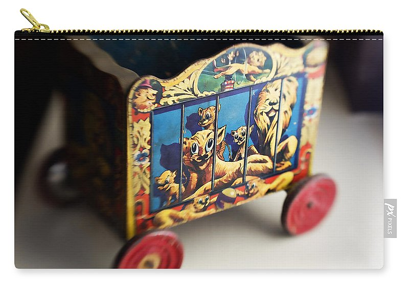 Americana Carry-all Pouch featuring the photograph Old Toy by Marilyn Hunt