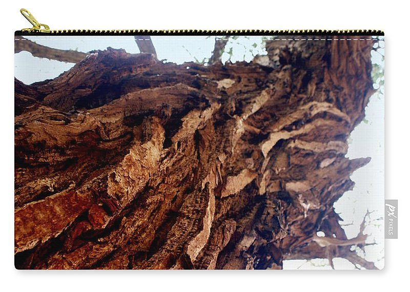 Tree Carry-all Pouch featuring the photograph Old Tree by Marty Koch