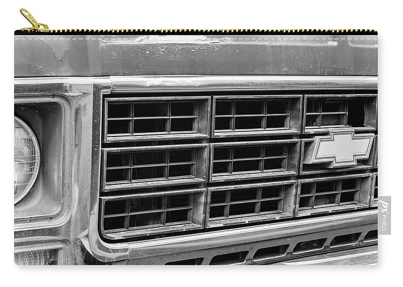 Truck Carry-all Pouch featuring the photograph Old Truck by Andrei Shliakhau