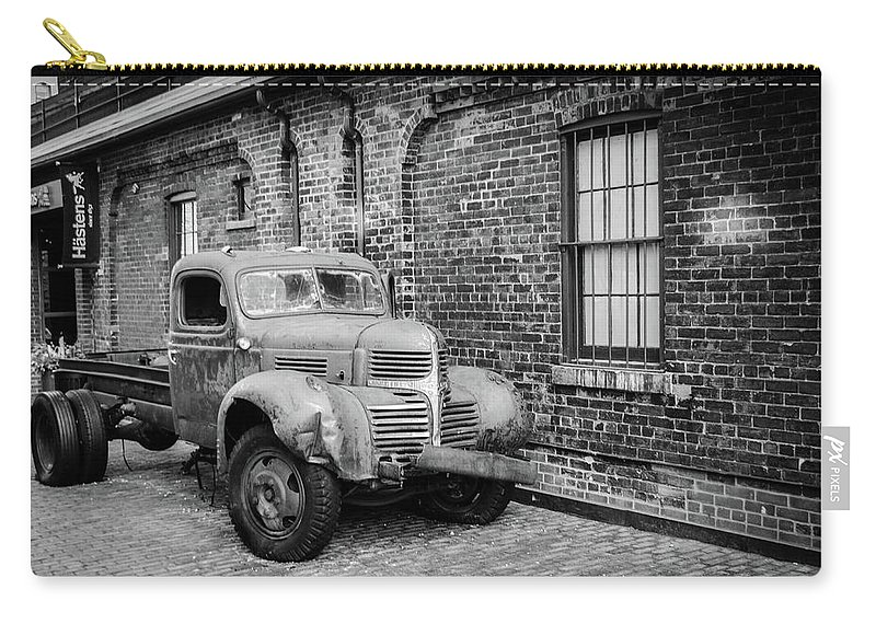 Truck Carry-all Pouch featuring the photograph Old Truck by Ivan Urbina
