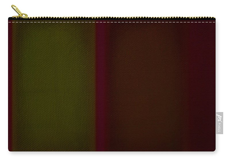 Rothko Carry-all Pouch featuring the painting Olive Red by Charles Stuart