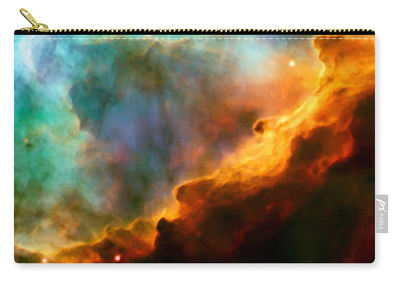 Nebula Carry-all Pouch featuring the photograph Omega Swan Nebula 3 by Jennifer Rondinelli Reilly - Fine Art Photography