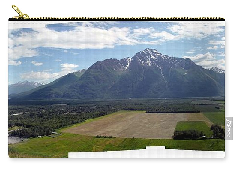 Landscape Carry-all Pouch featuring the photograph On A Butteiful Day by Ron Bissett