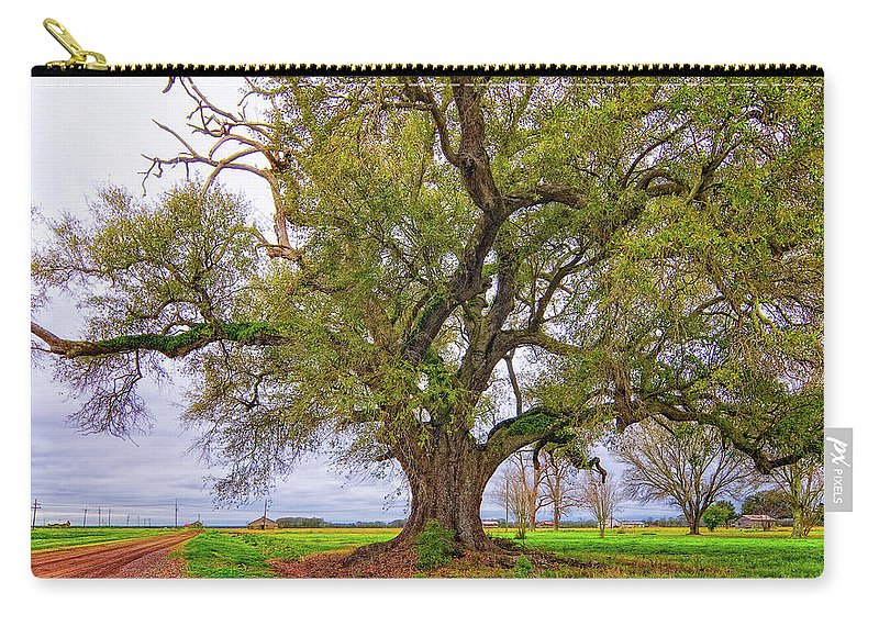 Delta Carry-all Pouch featuring the photograph On The Delta by Steve Harrington