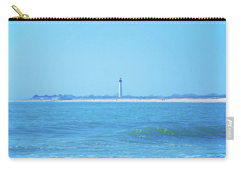 Cape May Carry-all Pouch featuring the photograph On The Way To Cape May by Bill Cannon
