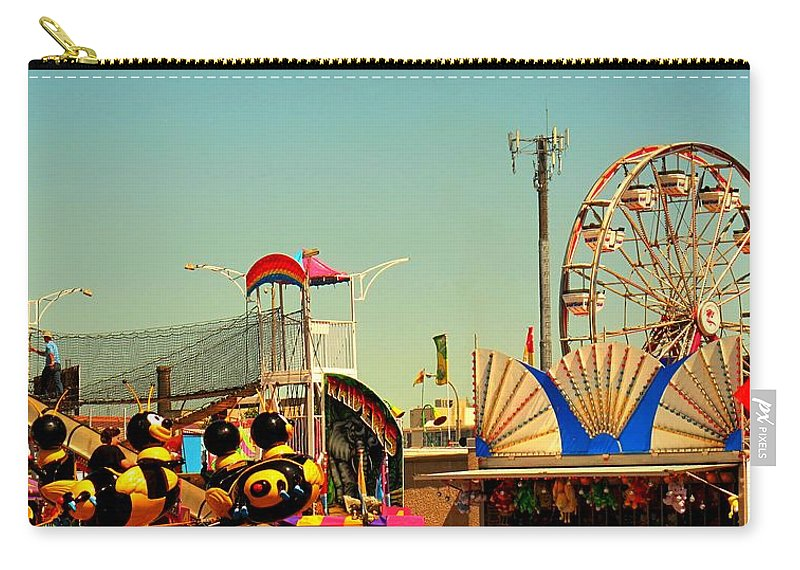 Canadian Carry-all Pouch featuring the photograph Once A Year by Ian MacDonald