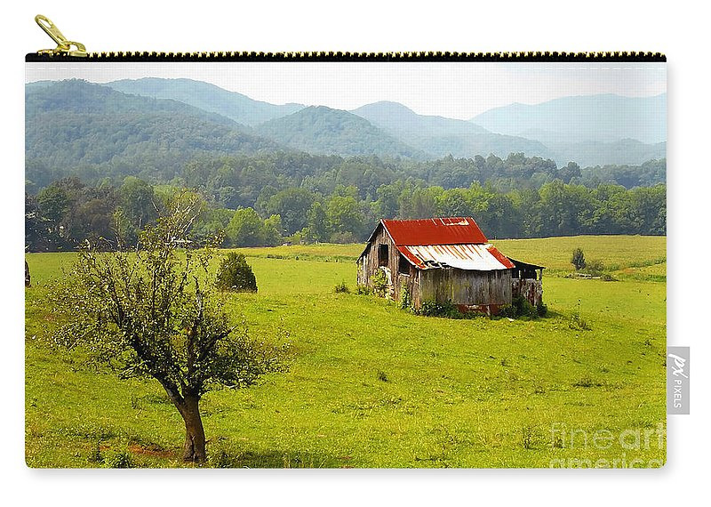 Farm Carry-all Pouch featuring the photograph Once Upon A Time by David Lee Thompson