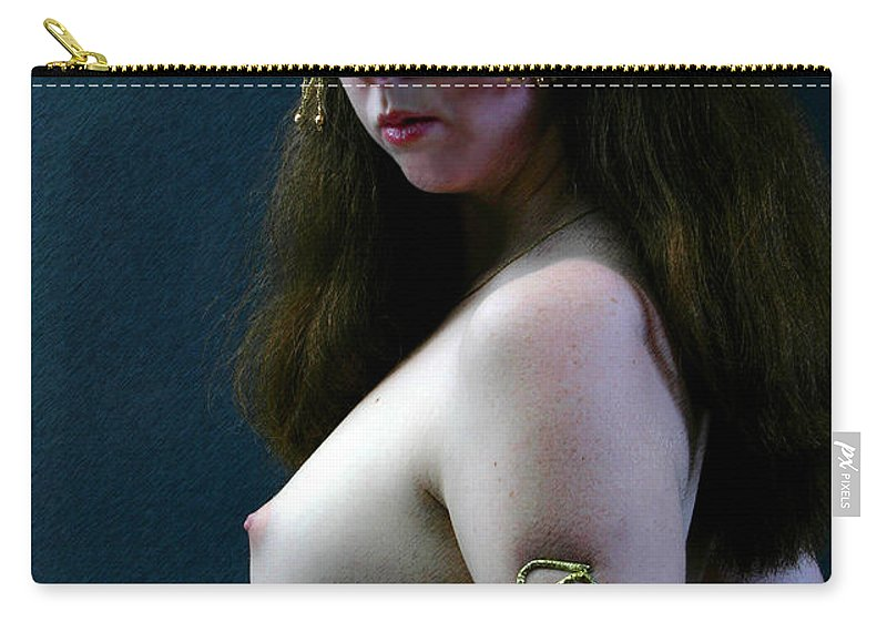 Nude Carry-all Pouch featuring the photograph Once Upon A Time In Istanbul by Joe Kozlowski