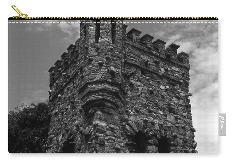 Castle Carry-all Pouch featuring the photograph Once Upon A Time by Richard Rizzo