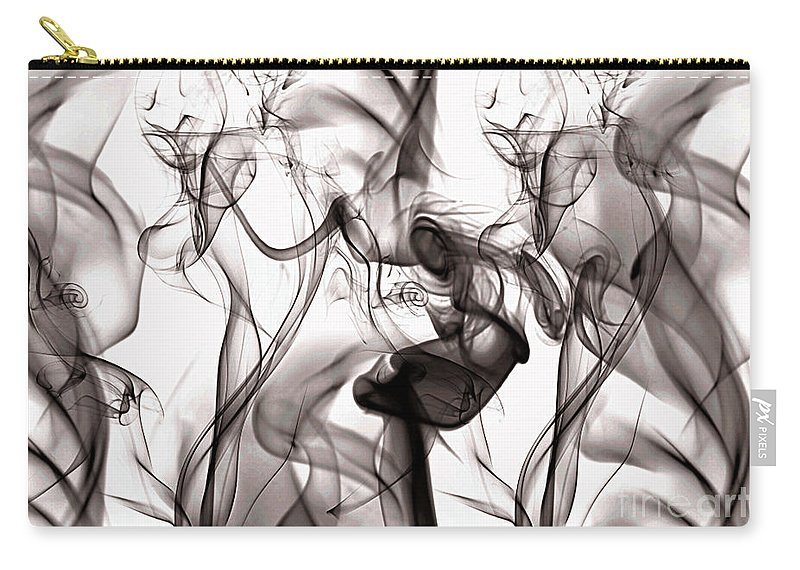 Clay Carry-all Pouch featuring the digital art One Among Many by Clayton Bruster