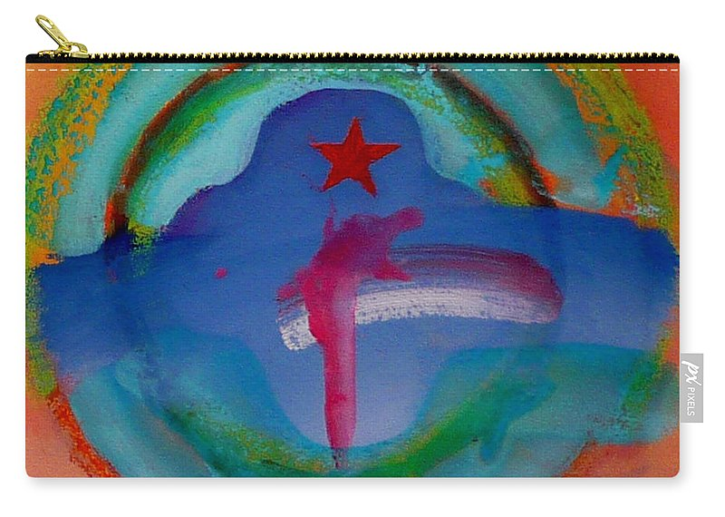Logo Carry-all Pouch featuring the painting one by Charles Stuart
