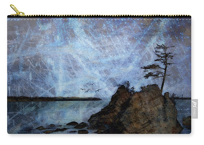 Oregon Carry-all Pouch featuring the photograph One Grace by Carol Leigh