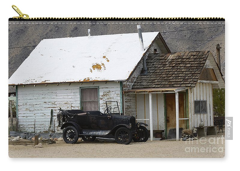 Car Carry-all Pouch featuring the photograph One Man's Treasure by Bob Christopher