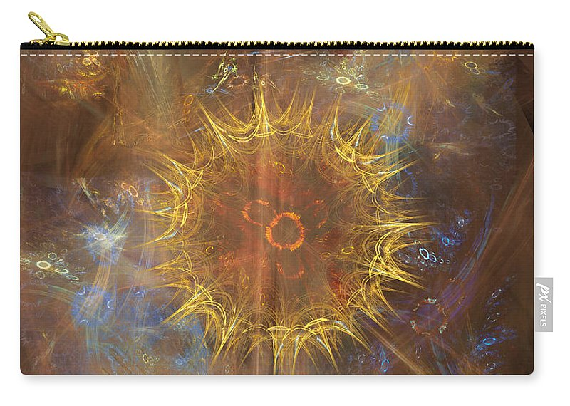 One Ring To Rule Them All Carry-all Pouch featuring the digital art One Ring To Rule Them All by John Beck