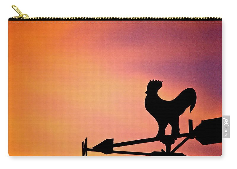 Sun Carry-all Pouch featuring the photograph One Sunday Morning by Diana Hatcher