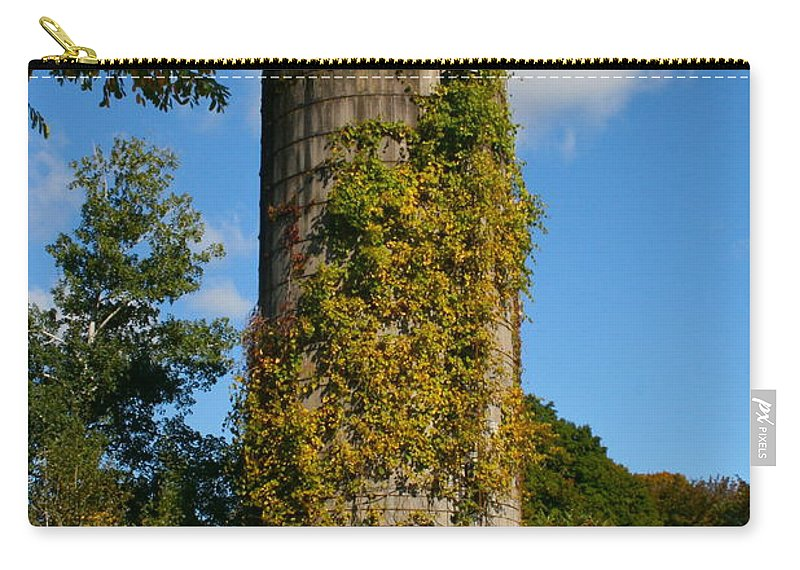Silo Carry-all Pouch featuring the photograph One With Nature by Rick Monyahan