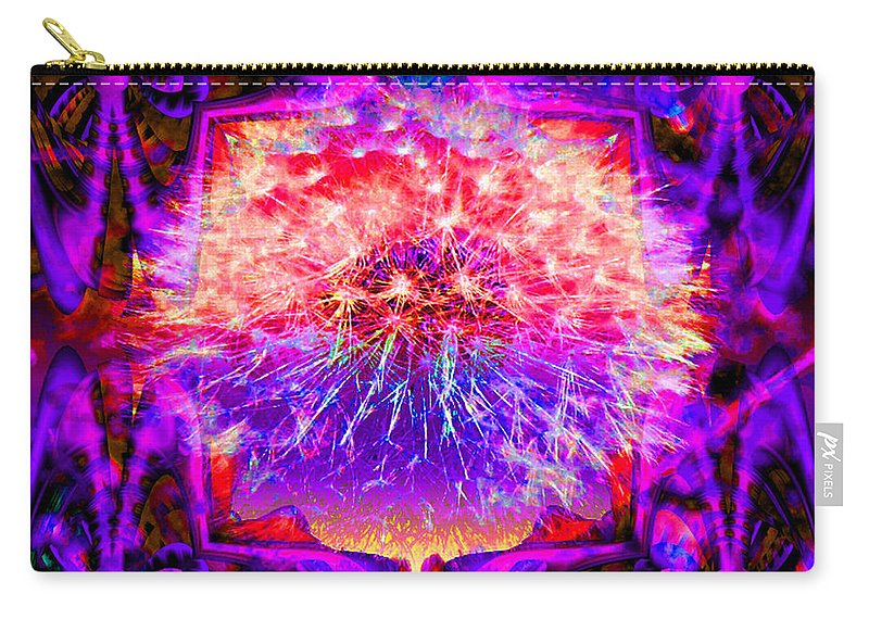 Flower Carry-all Pouch featuring the digital art Only A Dream by Robert Orinski