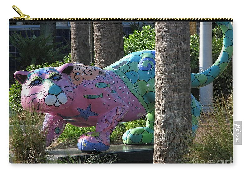 Patzer Carry-all Pouch featuring the photograph Only At The Beach by Greg Patzer