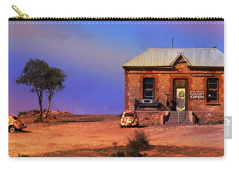 Landscape Carry-all Pouch featuring the photograph Open For Business by Holly Kempe