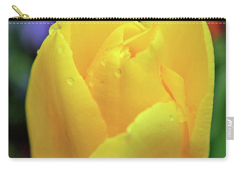 Flowers Carry-all Pouch featuring the photograph Open by Scott Mahon