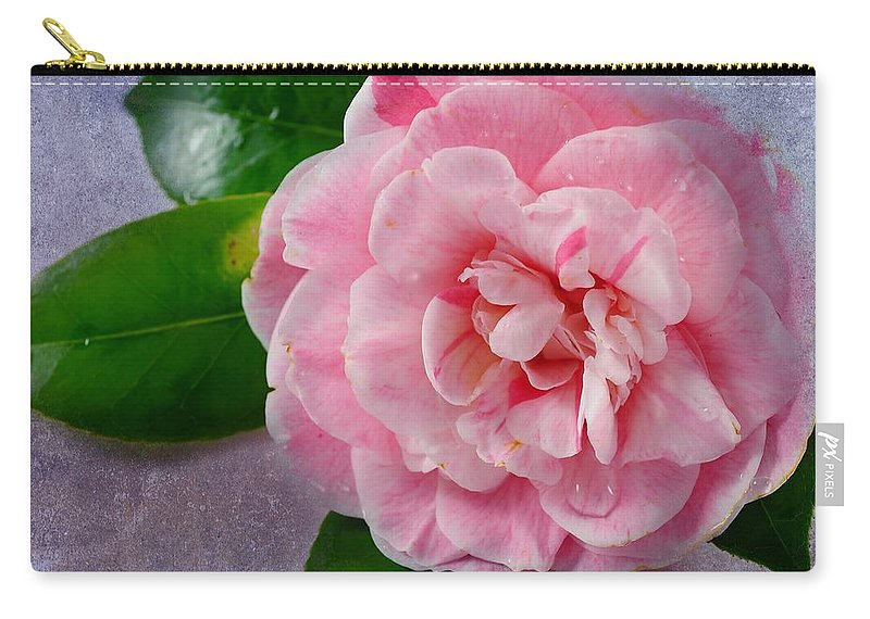 Macro Carry-all Pouch featuring the photograph Open Unto Thee by Georgiana Romanovna