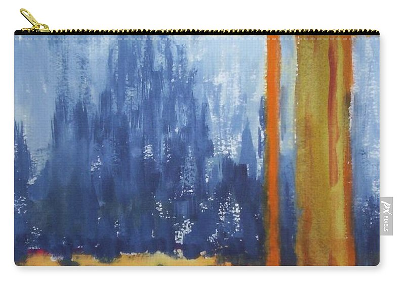 Landscape Carry-all Pouch featuring the painting Opening by Suzanne Udell Levinger