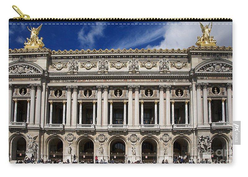 Paris Carry-all Pouch featuring the photograph Opera Garnier. Paris. France by Bernard Jaubert