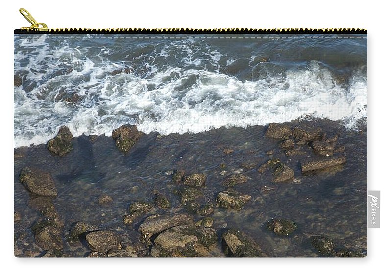 Ocean Carry-all Pouch featuring the photograph Opponents by Shari Chavira