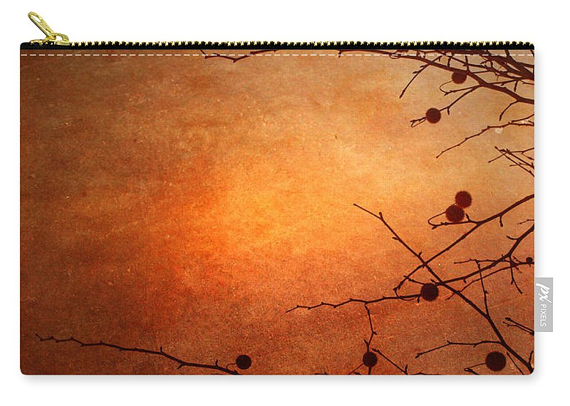 Orange Carry-all Pouch featuring the photograph Orange Simplicity by Tara Turner