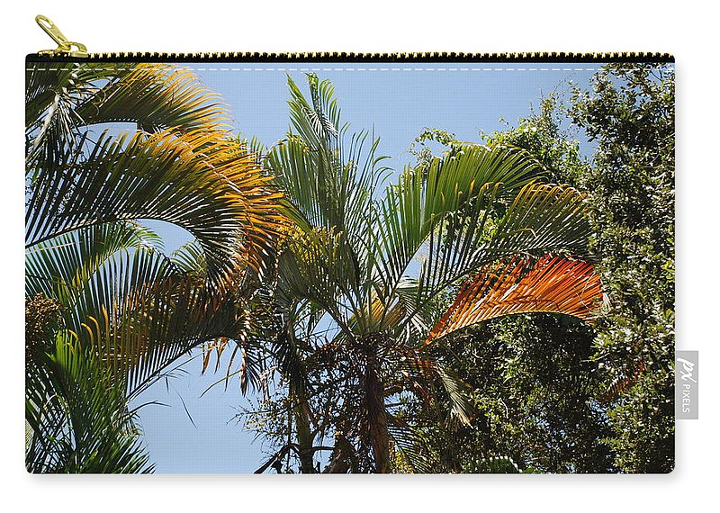 Palms Carry-all Pouch featuring the photograph Orange Trees by Rob Hans