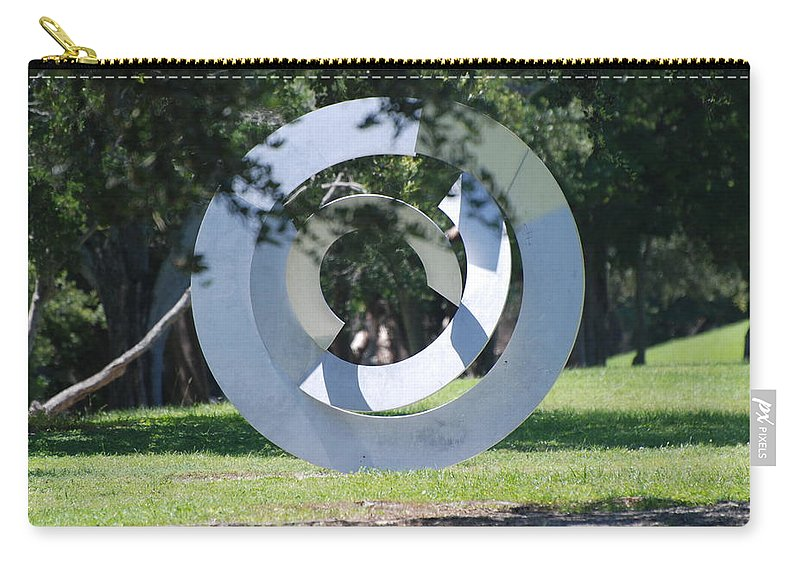 Landscape Carry-all Pouch featuring the photograph Orbs by Rob Hans