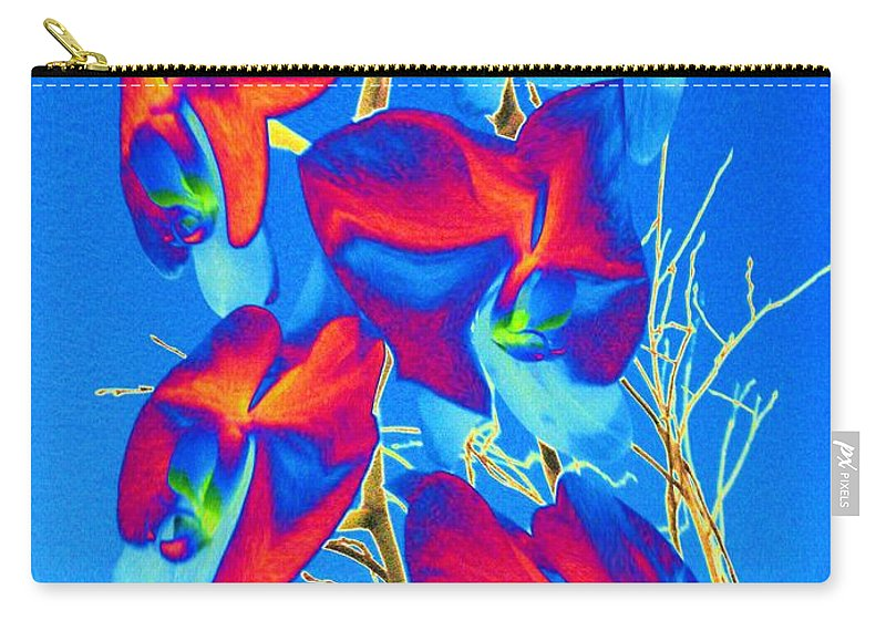 Orchid Carry-all Pouch featuring the photograph Orchid 1 by Tim Allen