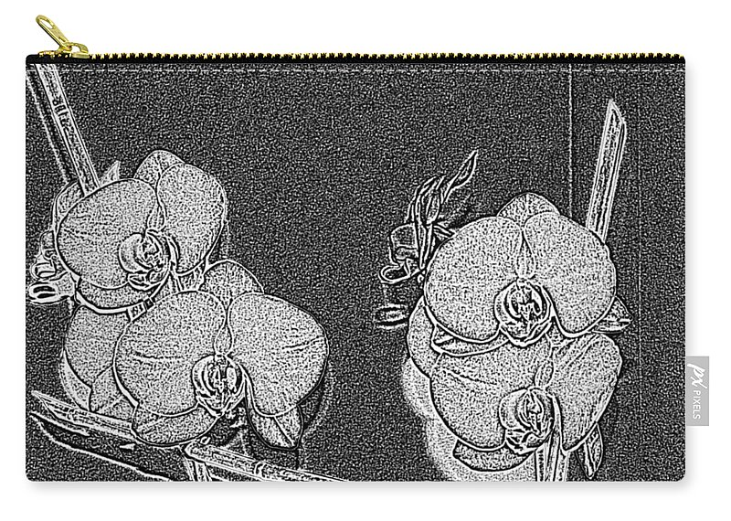 Orchid Carry-all Pouch featuring the photograph Orchid 3 by Tim Allen