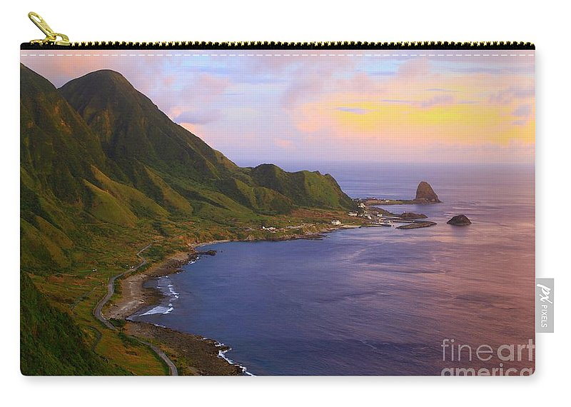 Tatala Carry-all Pouch featuring the photograph Orchid Island by MingTa Li