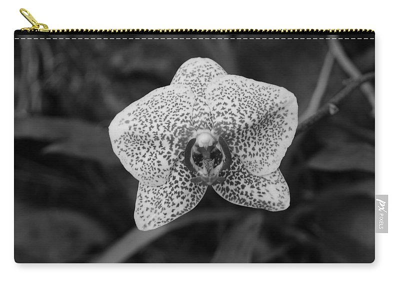 Macro Carry-all Pouch featuring the photograph Orchid by Rob Hans