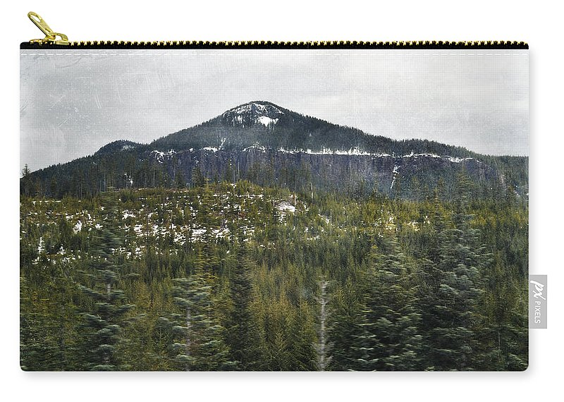 Oregon Carry-all Pouch featuring the photograph Oregon Cascade Range Forest by Kyle Hanson