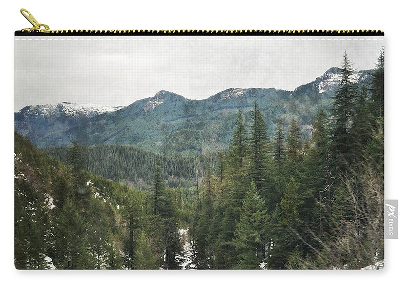Oregon Carry-all Pouch featuring the photograph Oregon Cascade Range by Kyle Hanson