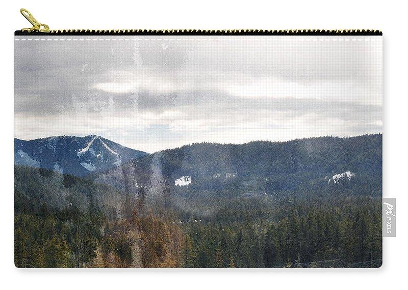 Oregon Carry-all Pouch featuring the photograph Oregon Cascade Range Landscape by Kyle Hanson