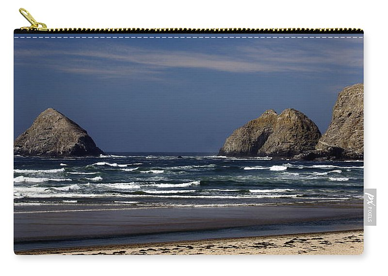 Ocean Carry-all Pouch featuring the photograph Oregon Coast 8 by Marty Koch