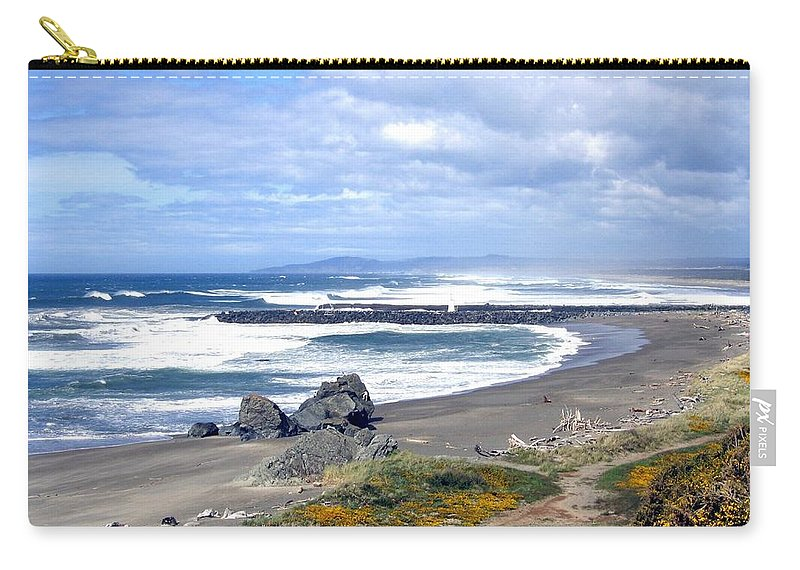 Bandon Carry-all Pouch featuring the photograph Oregon Coast by Will Borden