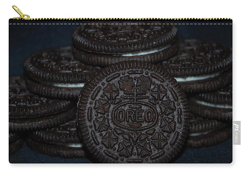 Oreo Carry-all Pouch featuring the photograph Oreo Cookies by Rob Hans
