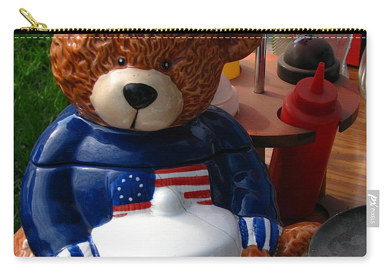 Patzer Carry-all Pouch featuring the photograph Oreo by Greg Patzer
